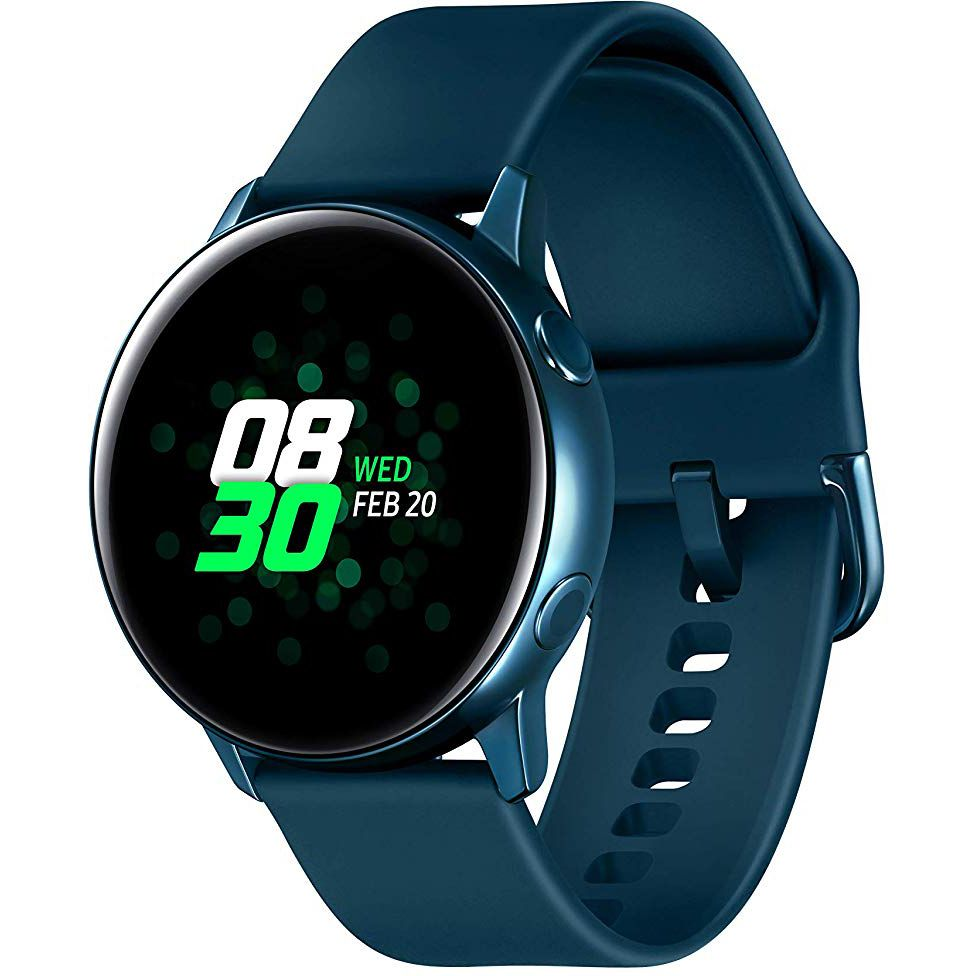 Ceas Smartwatch Samsung Galaxy Watch Active, R500N, 40mm, Wi-Fi, GPS, Aluminium, Green
