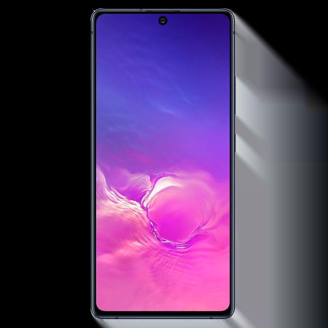 Telefon mobil Samsung Galaxy S10 Lite, G770, Dual SIM, 128GB, 6GB RAM, 4G, Prism Black