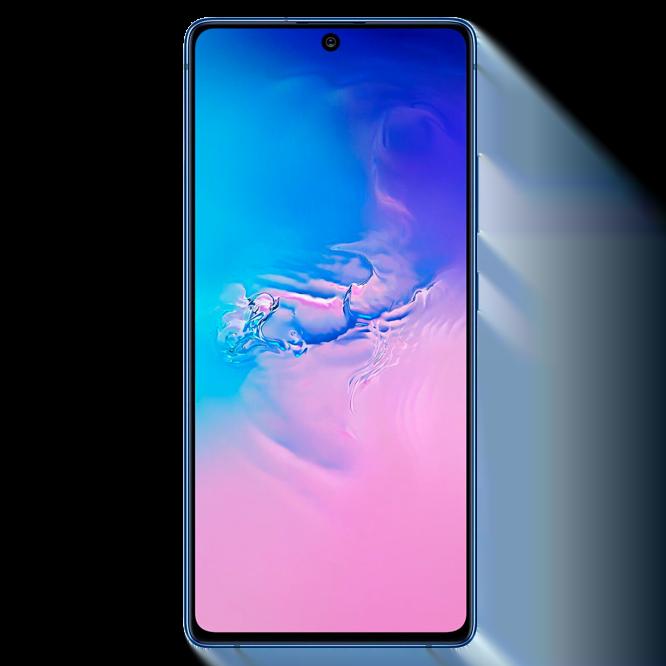 Telefon mobil Samsung Galaxy S10 Lite, G770, Dual SIM, 128GB, 6GB RAM, 4G, Prism Blue