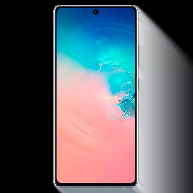Telefon mobil Samsung Galaxy S10 Lite, G770, Dual SIM, 128GB, 6GB RAM, 4G, Prism White