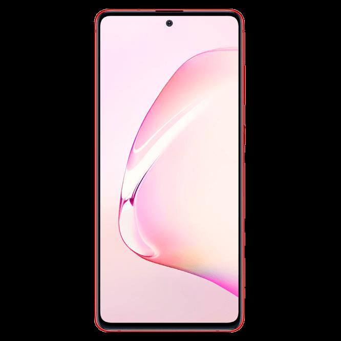 Telefon mobil Samsung Galaxy Note 10 Lite, N770, Dual SIM, 128GB, 6GB RAM, 4G, Aura Red