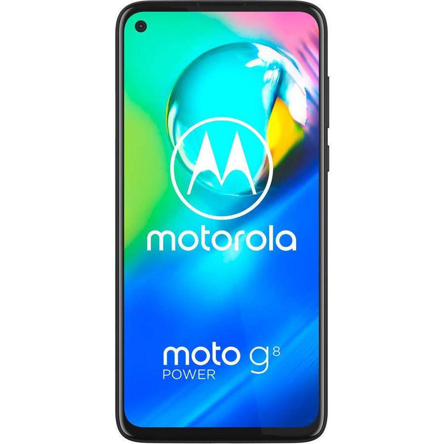 Telefon mobil Motorola Moto G8 Power, Dual SIM, 64GB, 4GB RAM, 4G, Smoke Black
