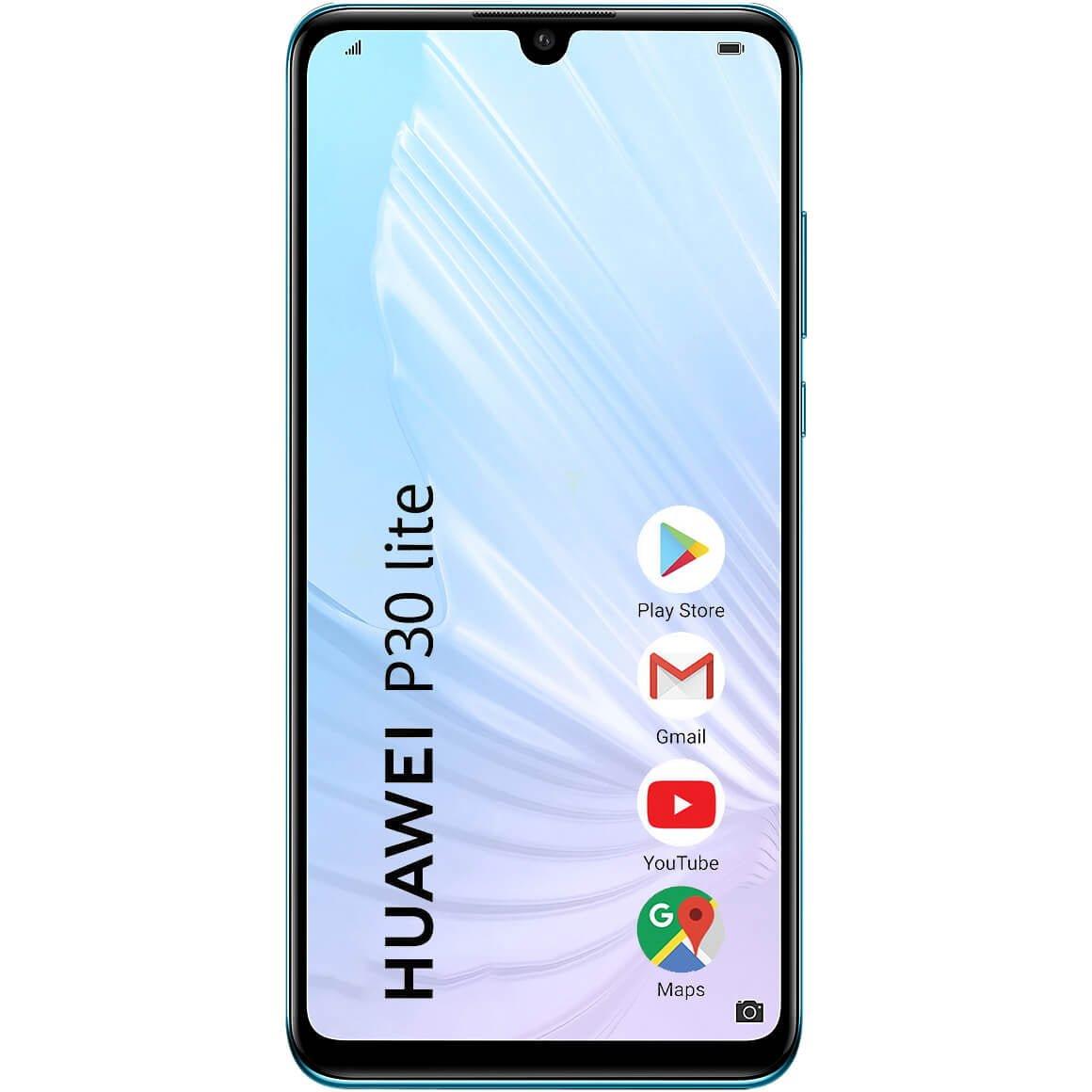 Telefon mobil Huawei P30 Lite New Edition, Dual SIM, 256GB, 6GB RAM, 4G, Breathing Crystal