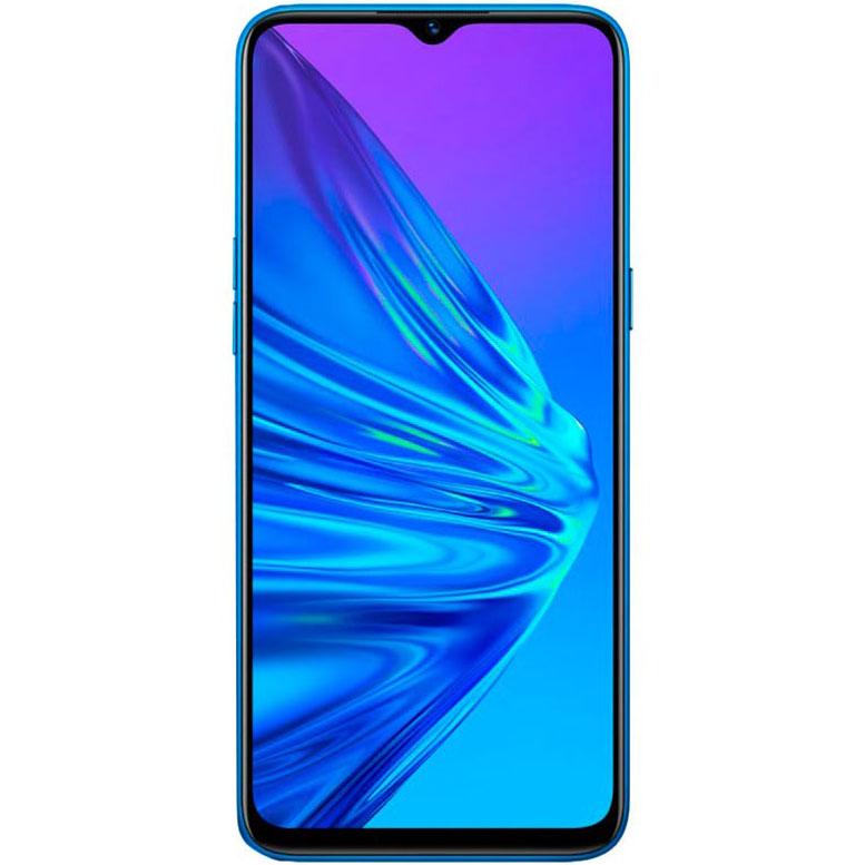Telefon mobil Realme 5, Dual SIM, 128GB, 4GB RAM, 4G, Crystal Blue
