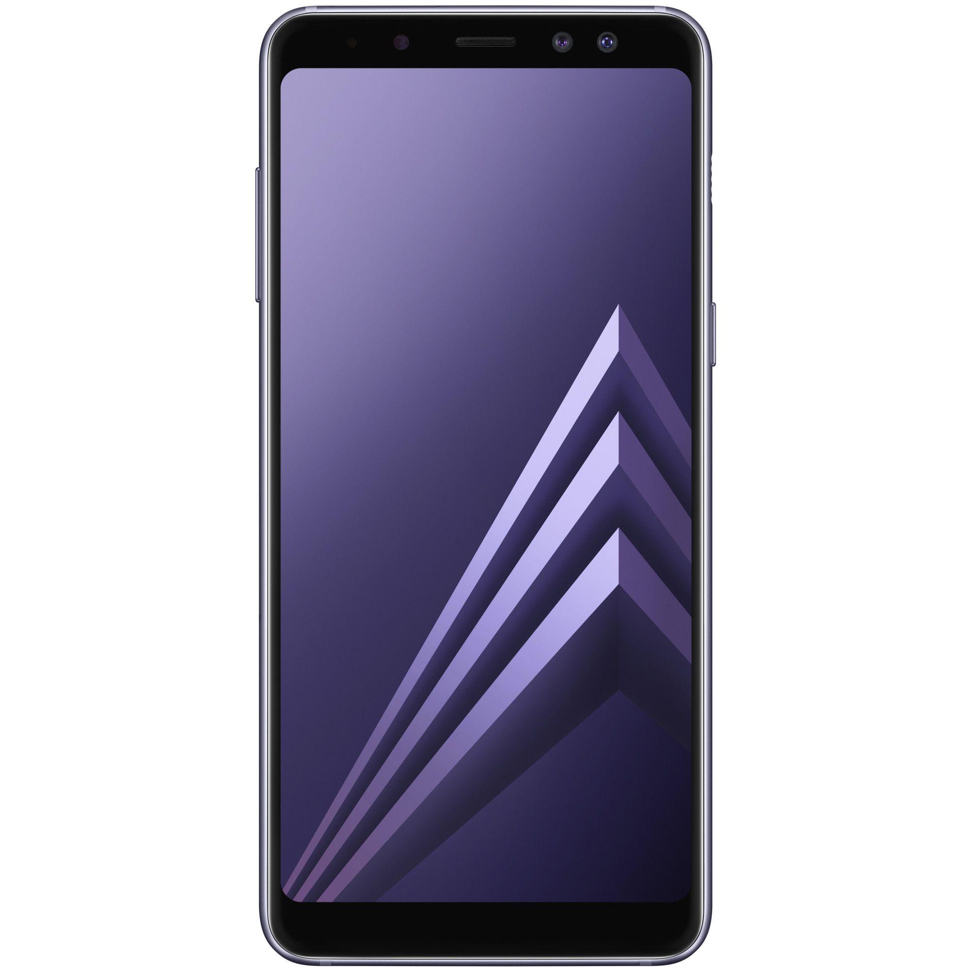 Telefon mobil Samsung Galaxy A8 (2018), A530F, Dual SIM, 32GB, 4GB RAM, 4G, Orchid Gray