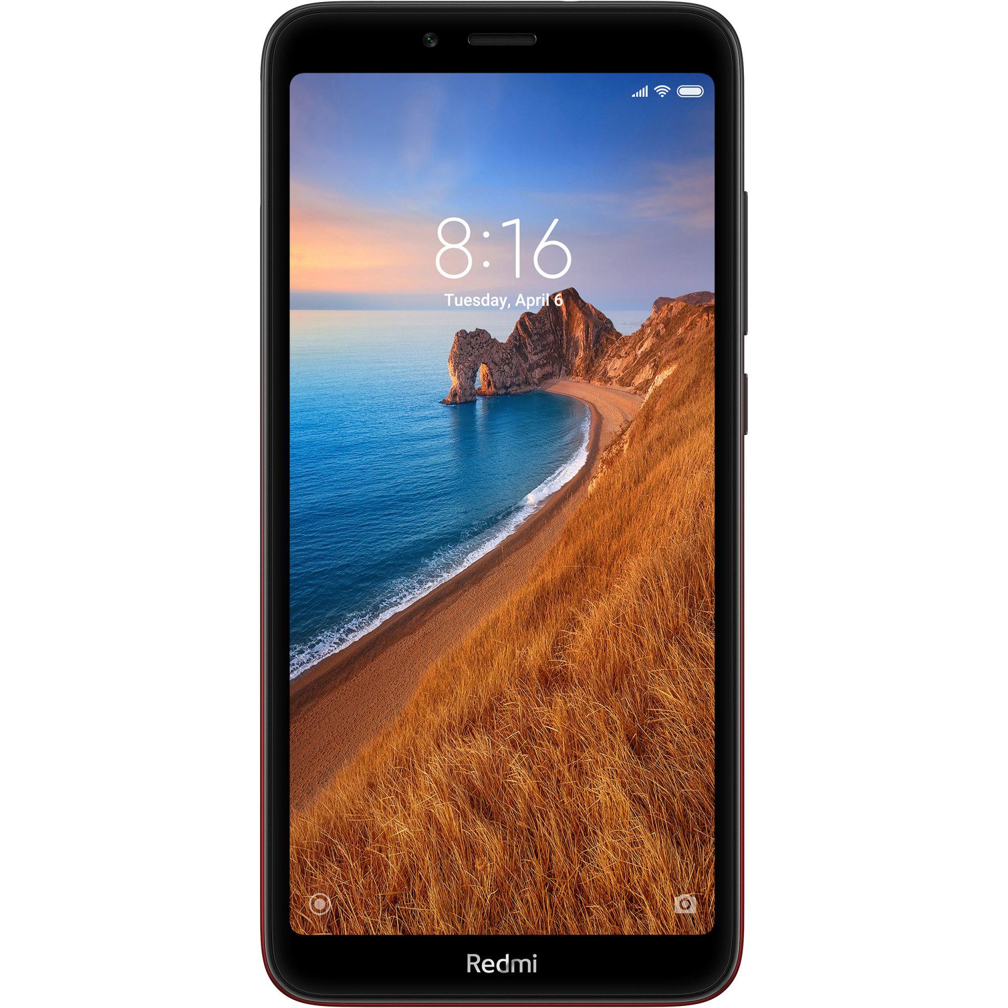 Telefon Mobil Xiaomi Redmi 7A, Dual Sim, 32GB, 2GB RAM, 4G, Gem Red
