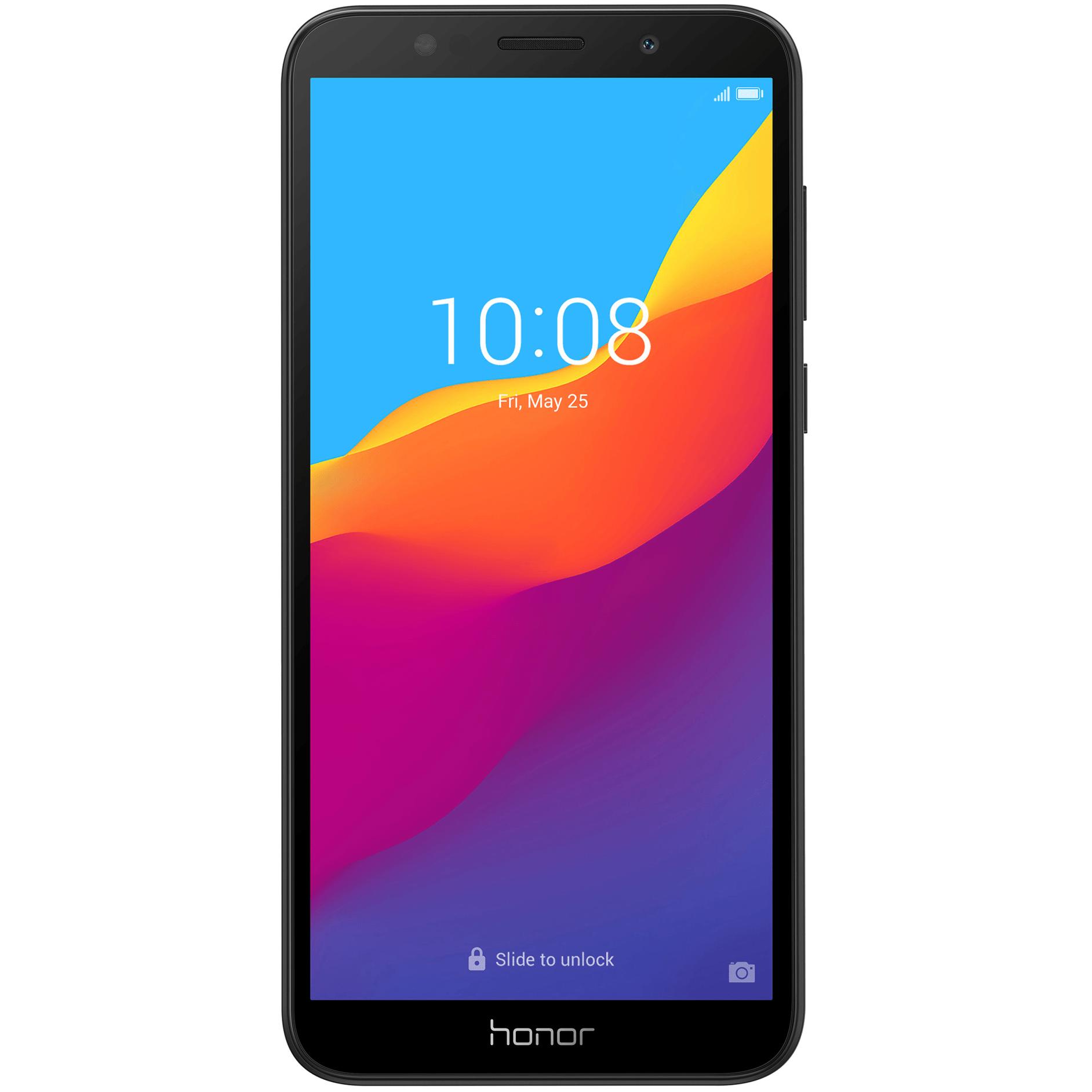 Telefon mobil Honor 7S, Dual SIM, 16GB, 2GB RAM, 4G, Black