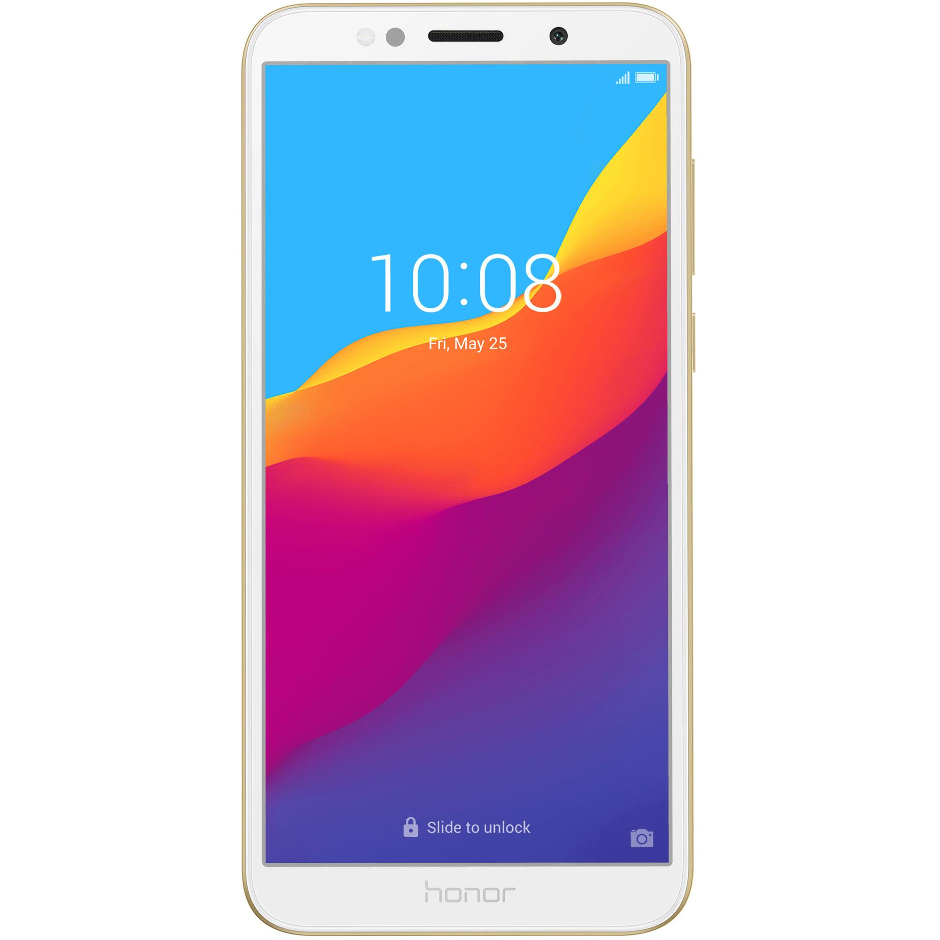 Telefon mobil Honor 7S, Dual SIM, 16GB, 2GB RAM, 4G, Gold