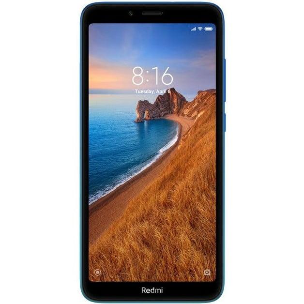 Telefon Mobil Xiaomi Redmi 7A, Dual Sim, 16GB, 2GB RAM, 4G, Gem Blue