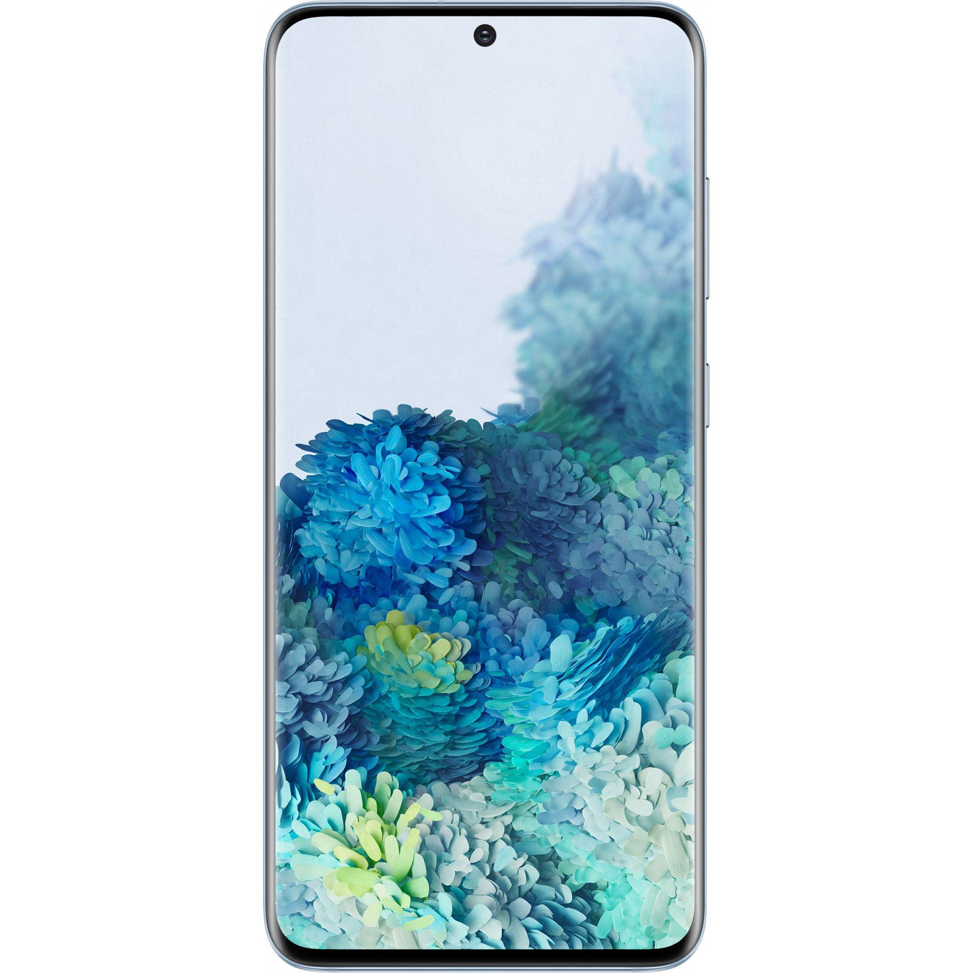 Telefon mobil Samsung Galaxy S20, Dual SIM, 128GB, 8GB RAM, 4G, Cloud Blue