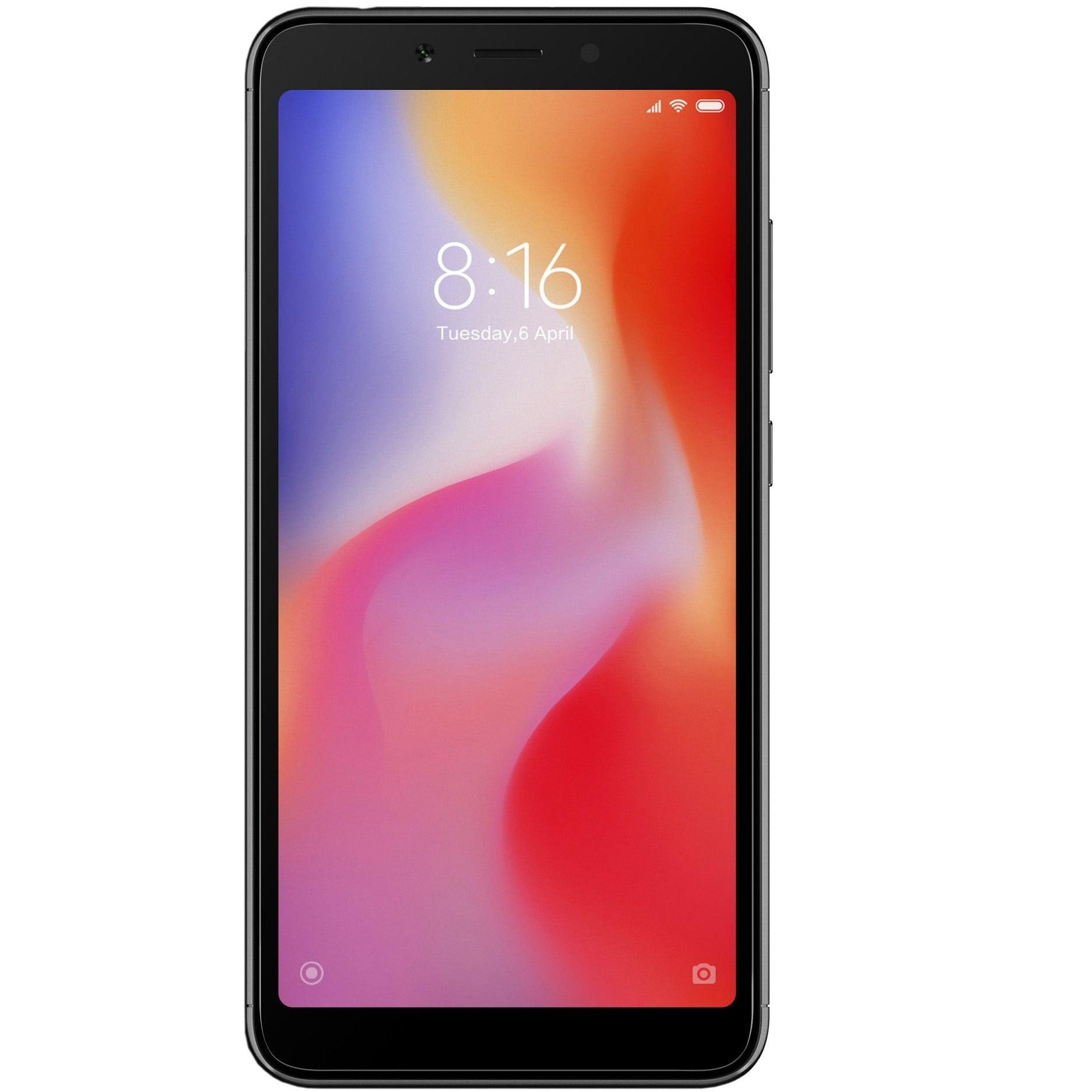 Telefon mobil Xiaomi Redmi 6A, Dual SIM, 16GB, 2GB RAM, 4G, Black