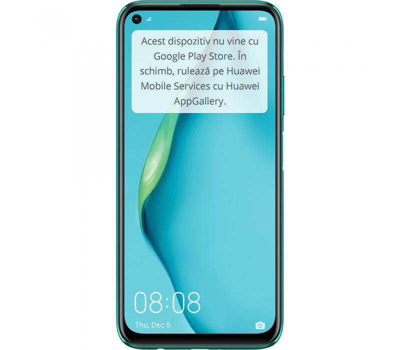 Telefon mobil Huawei P40 Lite, Dual SIM, 128GB, 6GB RAM, 4G, Crush Green