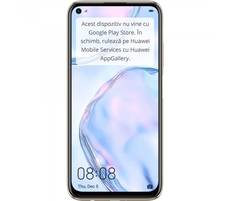 Telefon mobil Huawei P40 Lite, Dual SIM, 128GB, 6GB RAM, 4G, Sakura Pink