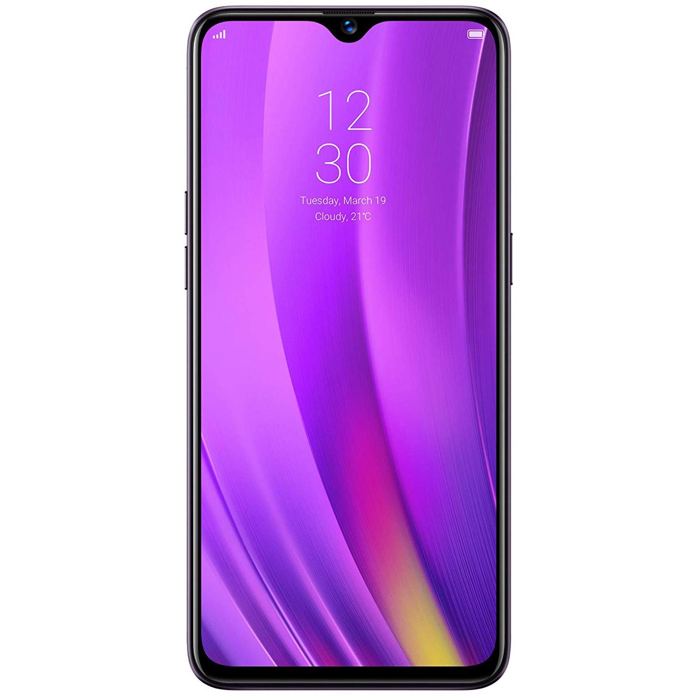Telefon mobil Realme 3 Pro, Dual SIM, 128GB, 4GB RAM, 4G, Lightning Purple