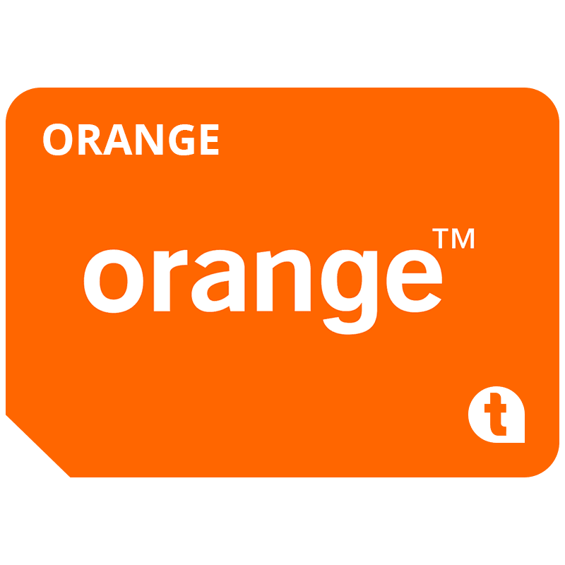 Cartela SIM Prepay Orange, 5 EUR