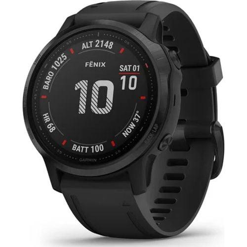 Ceas Smartwatch Garmin Fenix 6S Pro, 42 mm, HR, GPS, Black