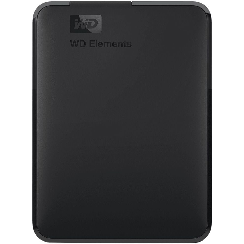 "HDD extern Western Digital Elements Portable, WDBU6Y0050BBK, 2.5"", USB 3.0, 5TB, Black"