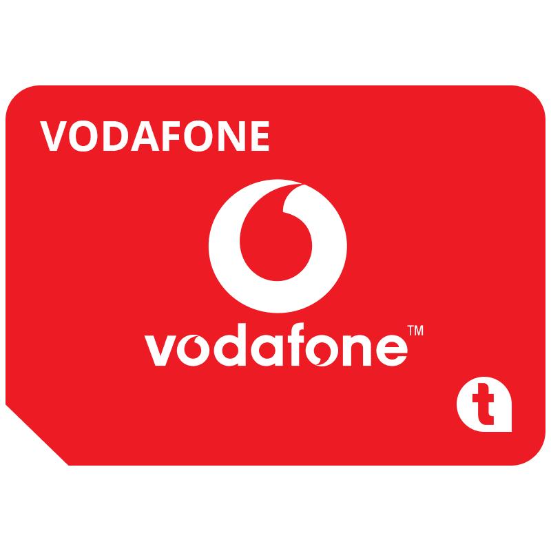 Cartela SIM Prepay Vodafone, 5 EUR