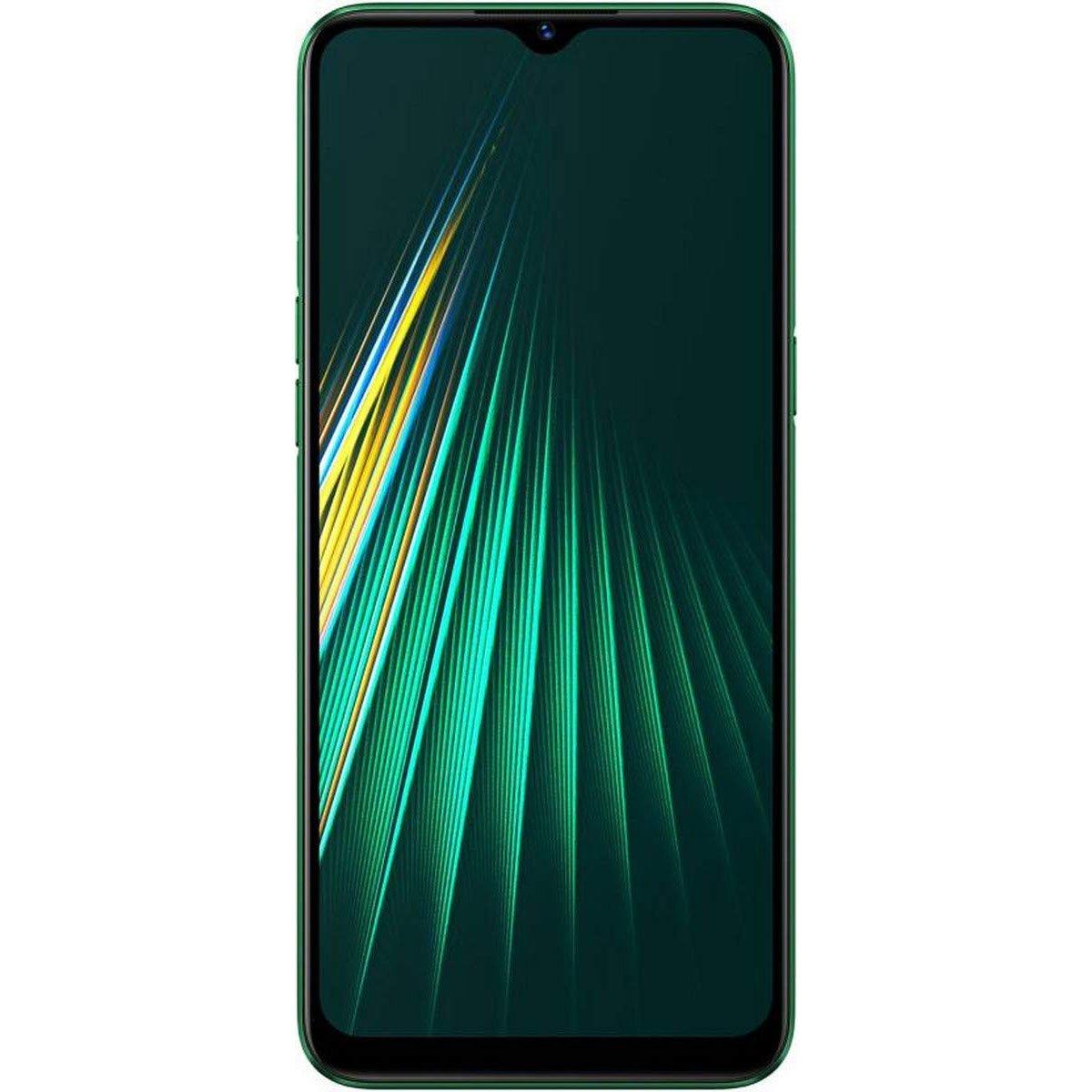 Telefon mobil Realme 5i, Dual SIM, 64GB, 4GB RAM, 4G, Forest Green