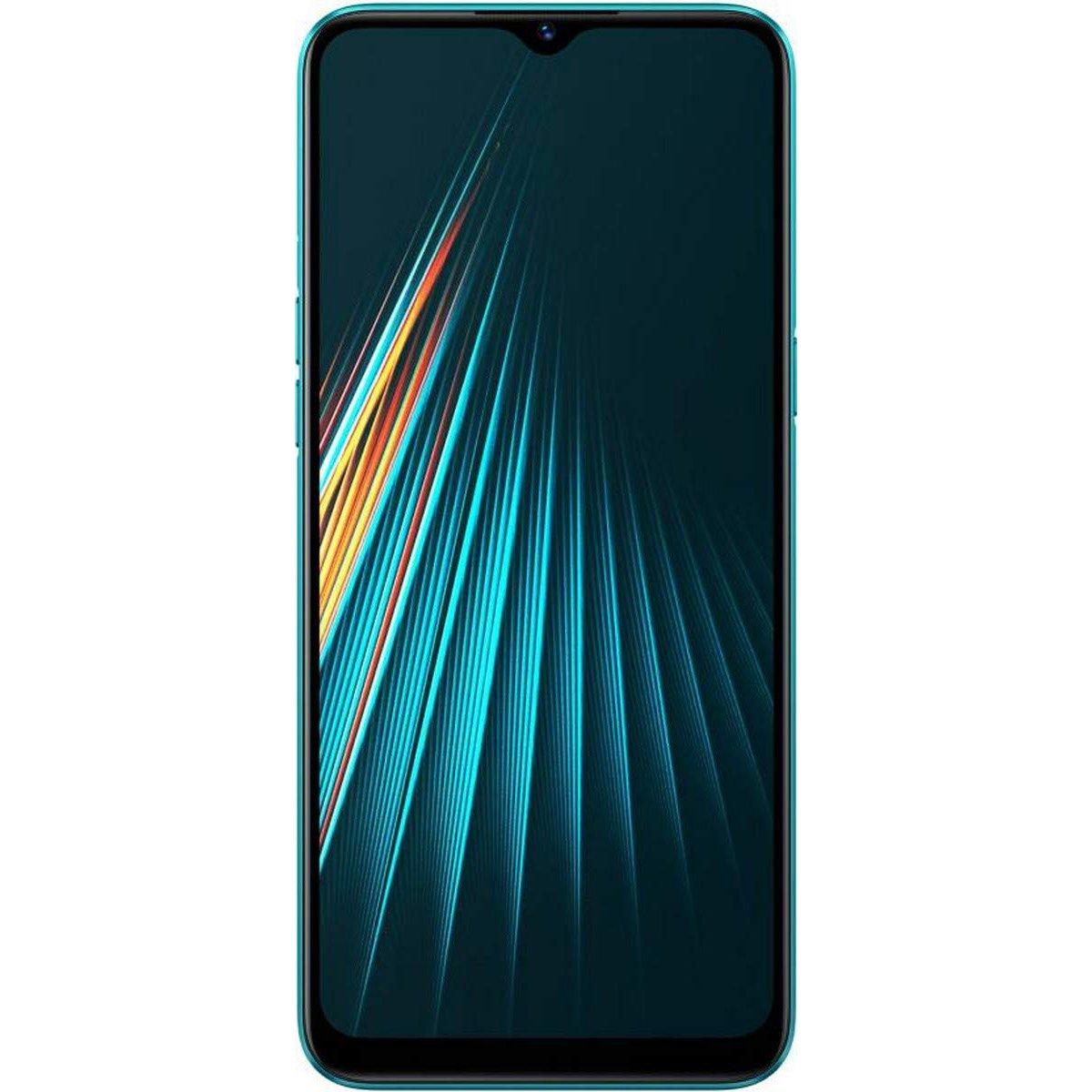 Telefon mobil Realme 5i, Dual SIM, 64GB, 4GB RAM, 4G, Aqua Blue