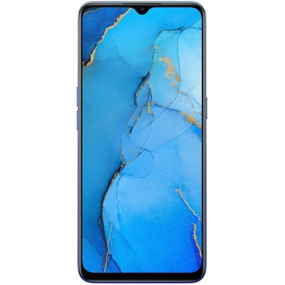 Telefon mobil Oppo Reno 3, Dual SIM, 128GB, 8GB RAM, 4G, Auroral Blue