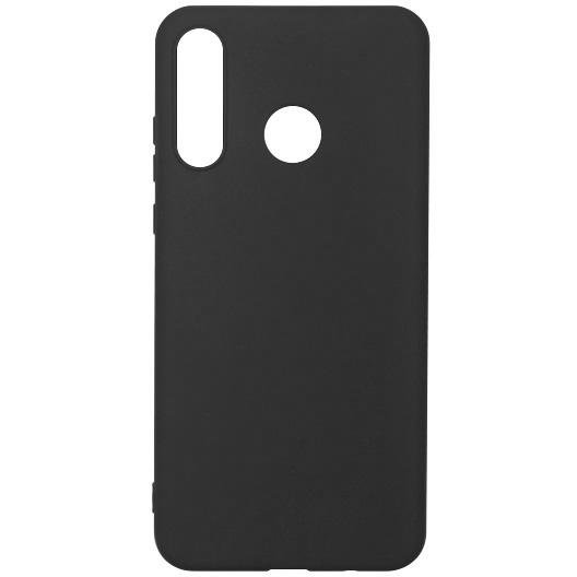 Husa Silicon pentru Huawei P30 Lite/ P30 Lite New Edition, Black