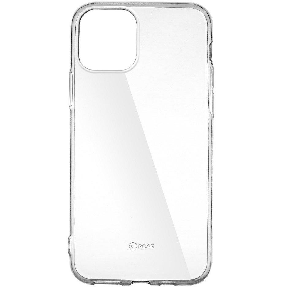 Husa Silicon Roar Jelly pentru Samsung Galaxy S20, Transparent