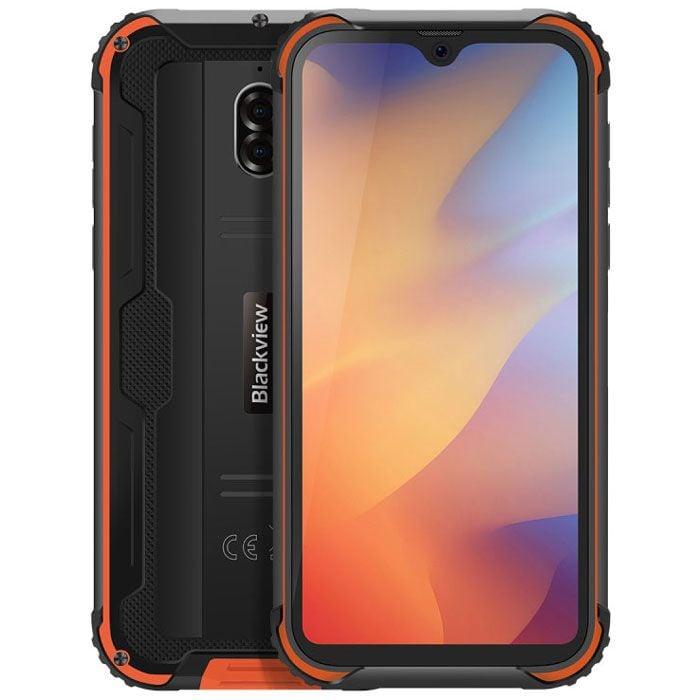 Telefon mobil Blackview BV5900, Dual SIM, 5580mAh, 32GB, 3GB RAM, 4G, Orange