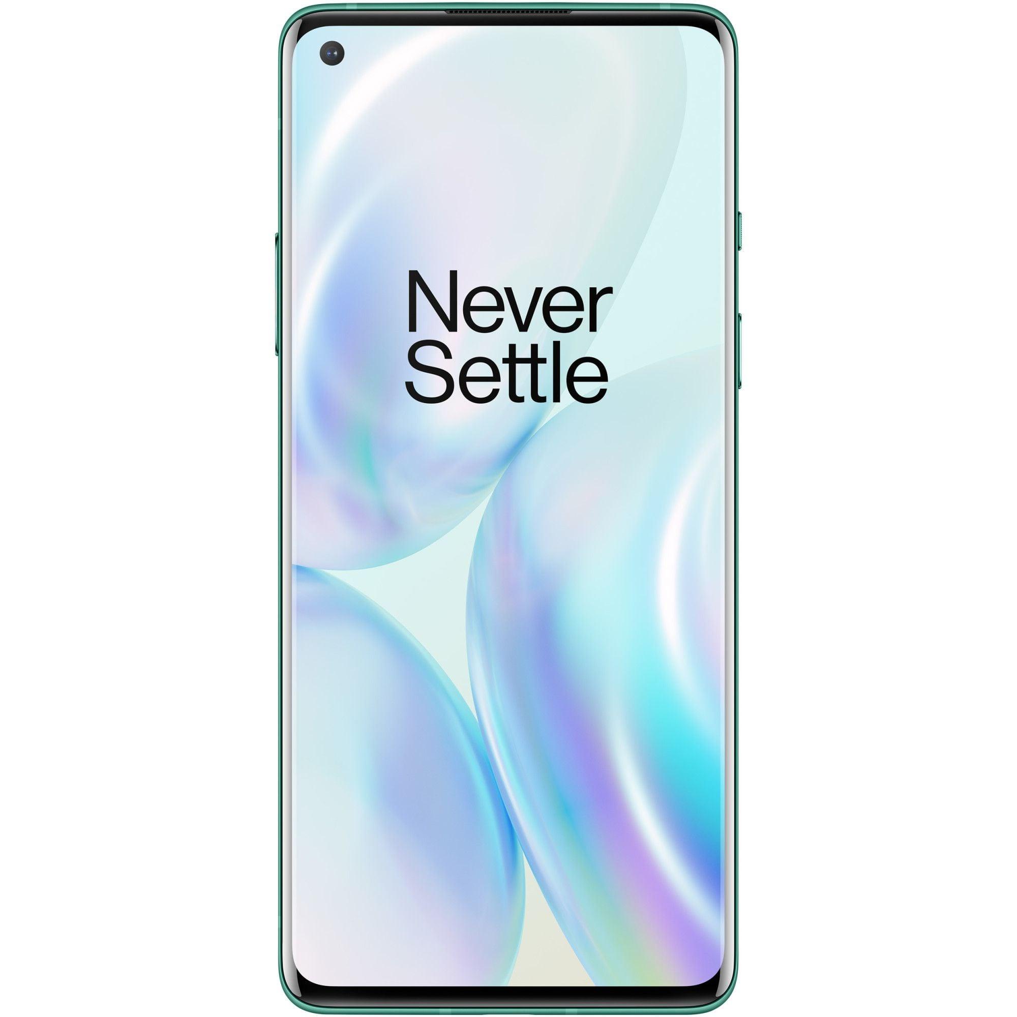 Telefon mobil OnePlus 8, Dual SIM, 128GB, 8GB RAM, 5G, Glacial Green