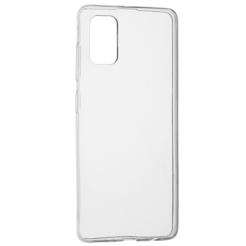 Husa silicon pentru Samsung Galaxy A71, Clear Case, Transparent