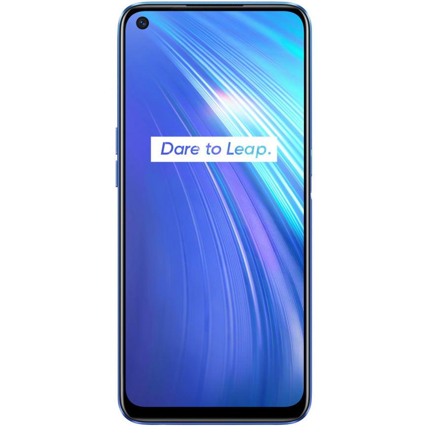 Telefon mobil Realme 6, Dual SIM, 128GB, 8GB RAM, 4G, Comet Blue