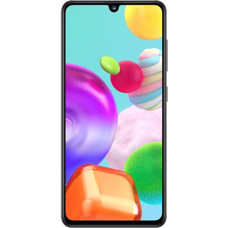 Telefon mobil Samsung Galaxy A41, Dual SIM, 64GB, 4GB RAM, 4G, Prism Crush Black