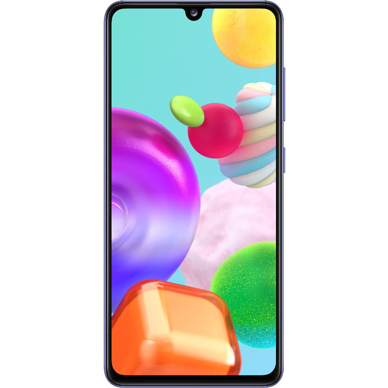 Telefon mobil Samsung Galaxy A41, Dual SIM, 64GB, 4GB RAM, 4G, Prism Crush Blue
