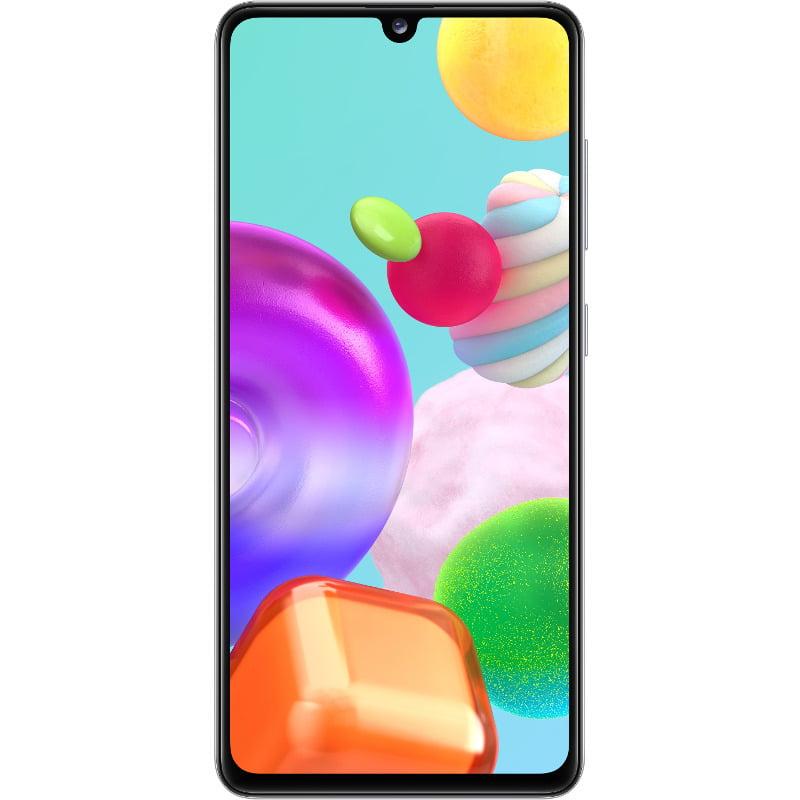 Telefon mobil Samsung Galaxy A41, Dual SIM, 64GB, 4GB RAM, 4G, Prism Crush White