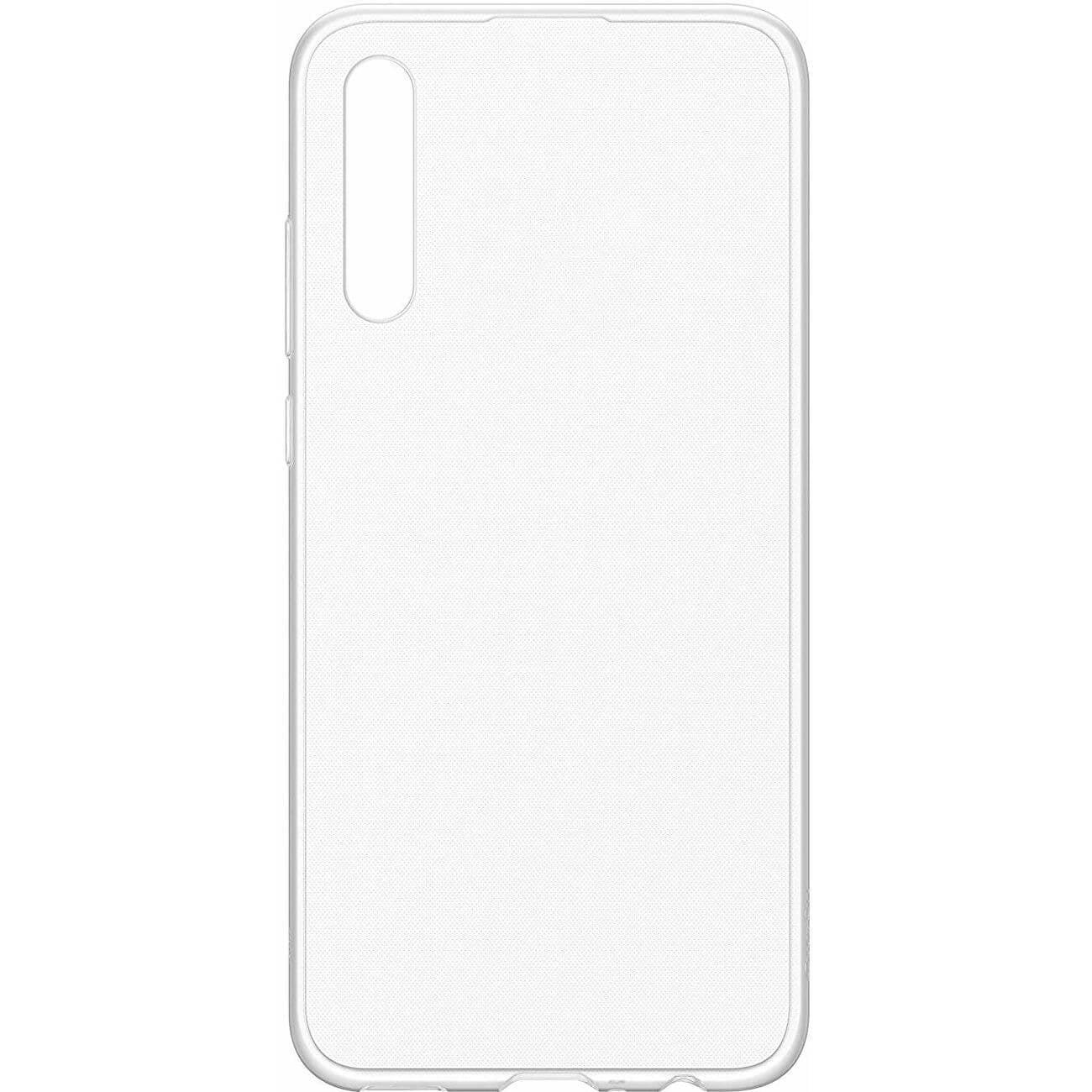 Husa silicon pentru Huawei P30, Clear Case, Transparent