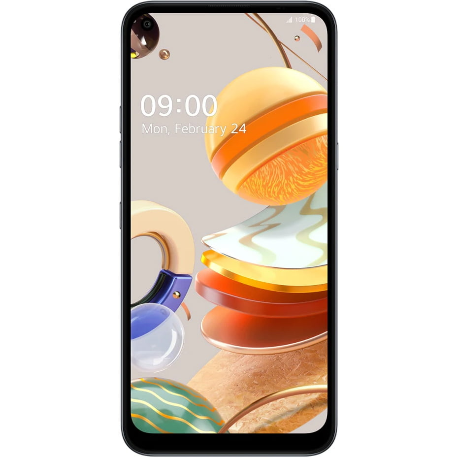 Telefon mobil LG K61, Dual SIM, 128GB, 4GB RAM, 4G, Titanium
