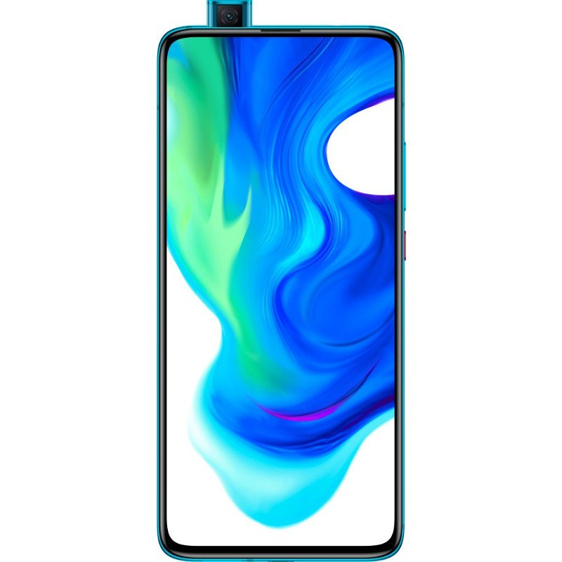 Telefon mobil Xiaomi Poco F2 Pro, Dual SIM, 256GB, 8GB RAM, 5G, Neon Blue
