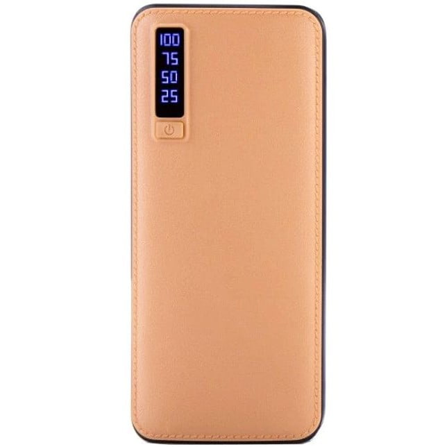 Baterie Externa (Powerbank) Elworld, 20000 mAh, Quick Charge, 3xUSB, Brown
