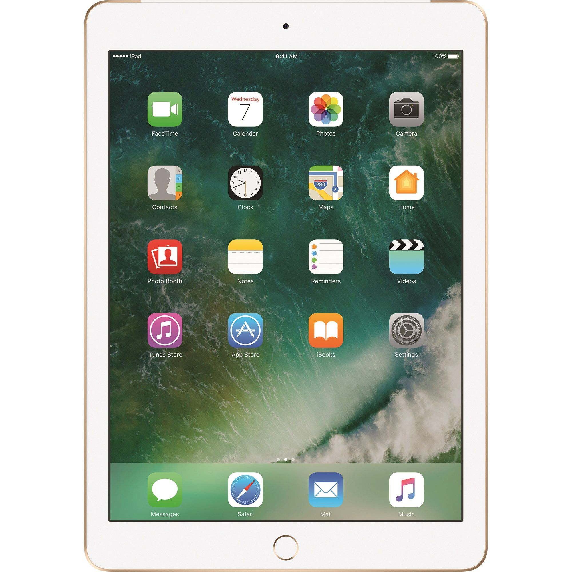 "Tableta Apple iPad (2018), 9.7"", 32GB, 2GB RAM, Wi-Fi + Cellular, Gold"
