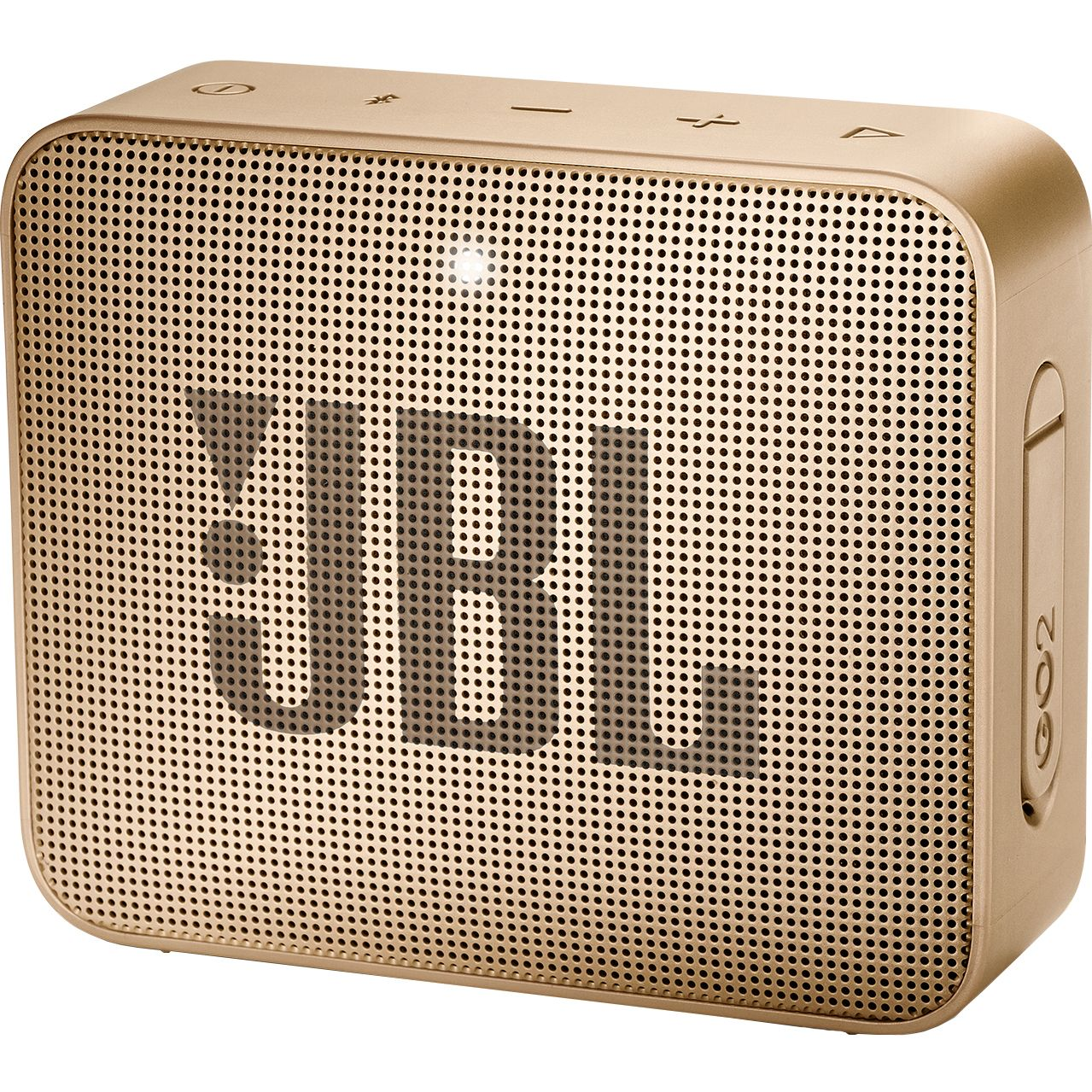 Boxa portabila JBL Go 2, Wireless, Bluetooth, IPX7 Waterproof, Champagne