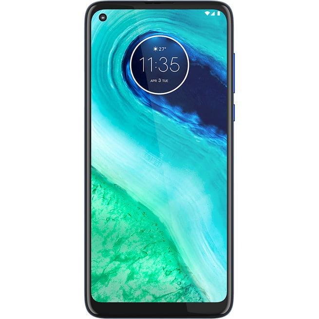 Telefon mobil Motorola Moto G8, Dual SIM, 64GB, 4GB RAM, 4G, Neon Blue
