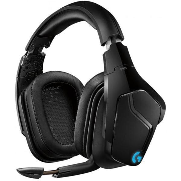 Casti audio Over-Ear Logitech G935, Gaming, RGB Lightsync, Surround Sound 7.1, Multiplatform, Black