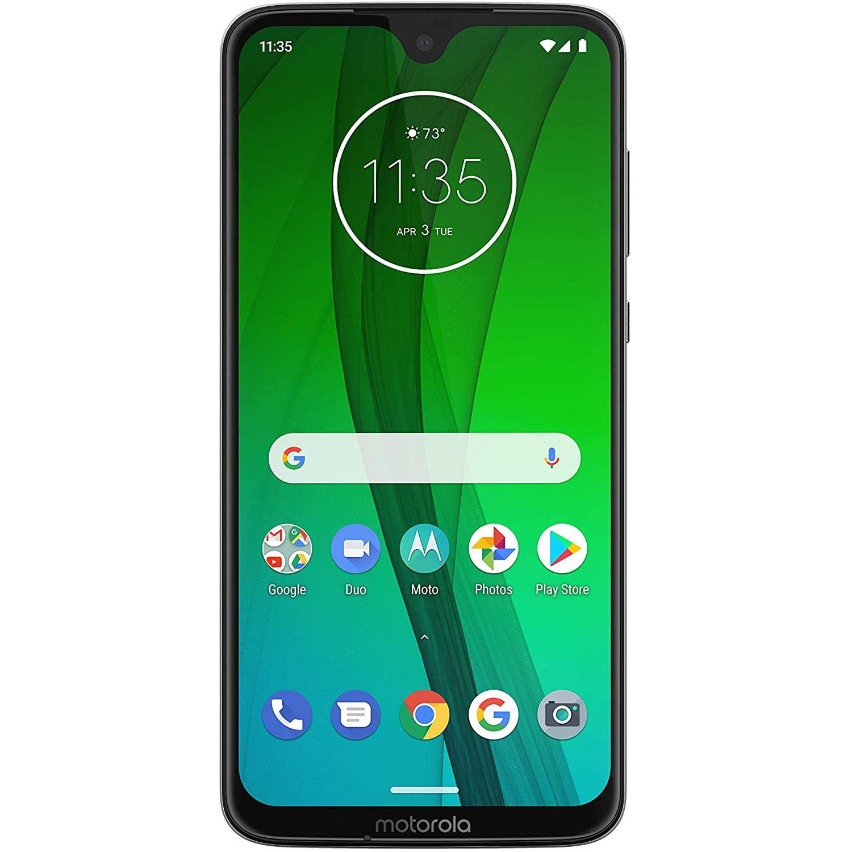 Telefon mobil Motorola Moto G7, Dual SIM, 64GB, 4GB RAM, 4G, Clear White