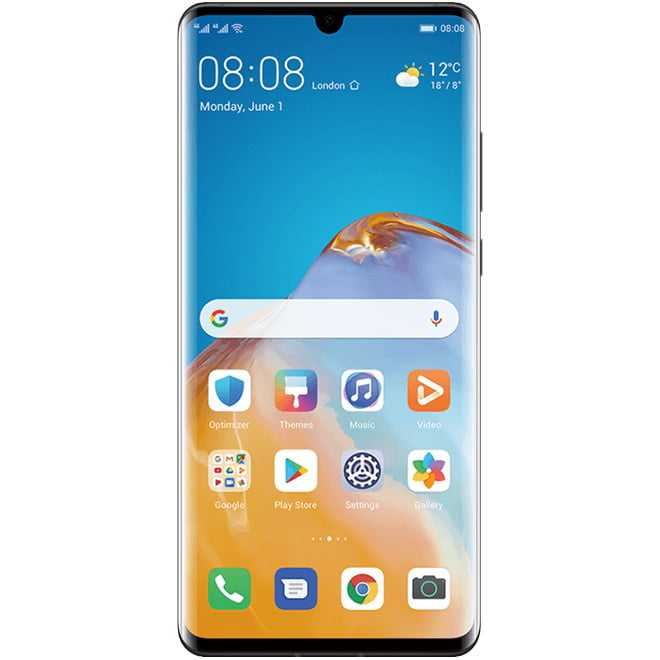 Telefon mobil Huawei P30 Pro New Edition, Dual SIM, 256GB, 8GB RAM, 4G, Black