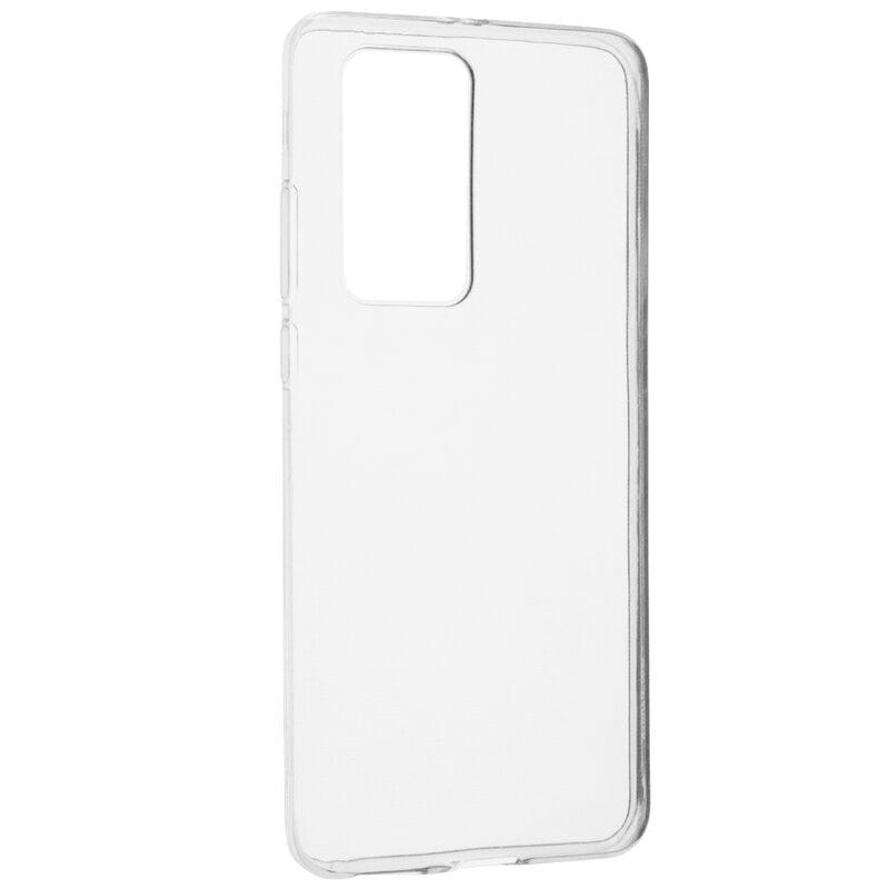 Husa silicon pentru Huawei P40 Pro, Clear Case, Transparent