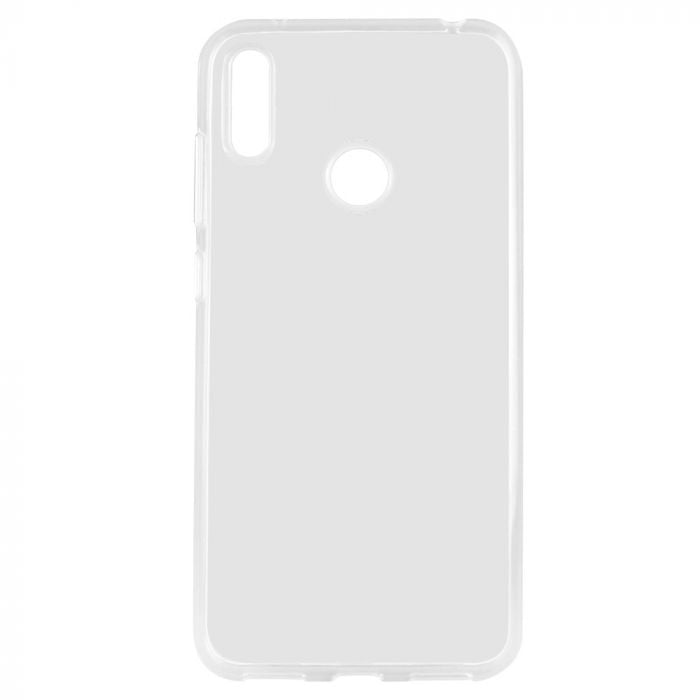 Husa silicon pentru Huawei Y7 (2019), Clear Case, Transparent