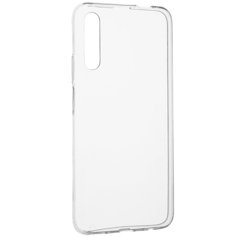 Husa silicon pentru Huawei P Smart Pro (2019), Clear Case, Transparent