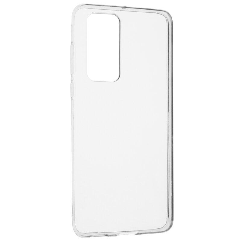 Husa silicon pentru Huawei P40, Clear Case, Transparent