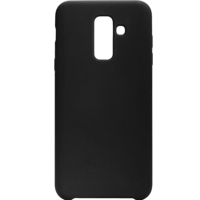 Husa silicon pentru Samsung Galaxy A6 Plus (2018), Black