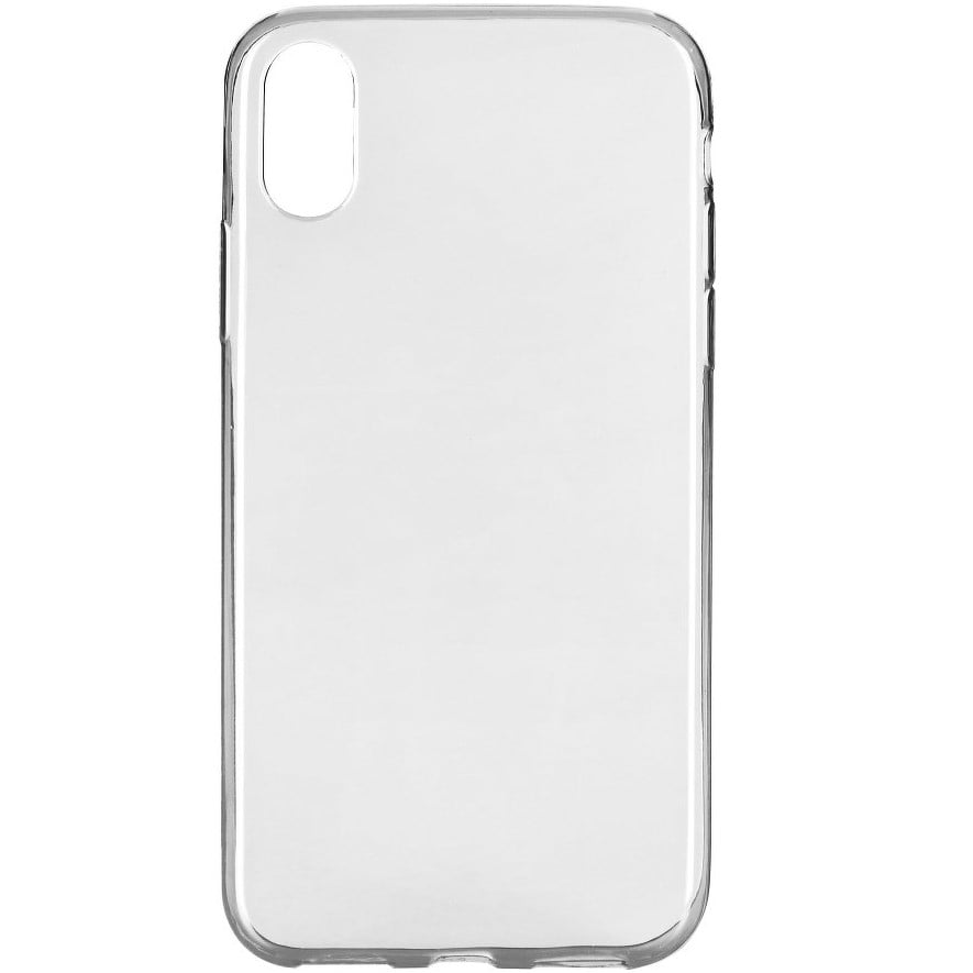 Husa silicon pentru Apple IPhone XS, Clear Case, Transparent